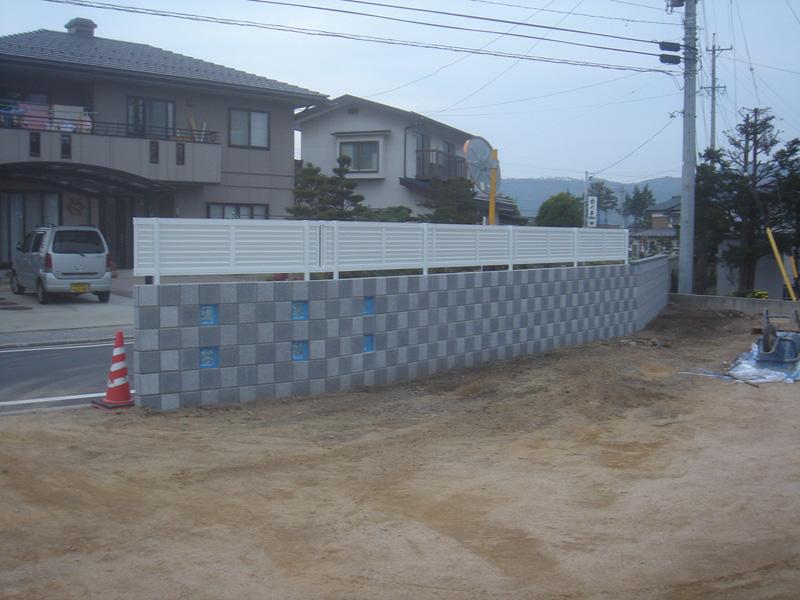 カラーブロック(ウェルカムウォール・土留・塀)
