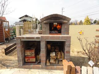 ガーデンピザ釜 (3)