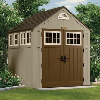 樹脂製ホームデザイン物置アルパイン中ガーデンハウス (2)