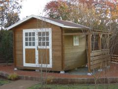 ガーデンハウス木製物置BergBベルクストックヤード (6)