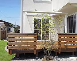 松本市で庭づくりをお考えの方に