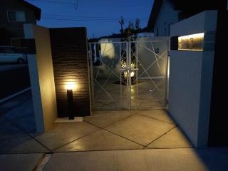 pict-LED照明でお庭を楽しむナイトガーデン実例 (6)