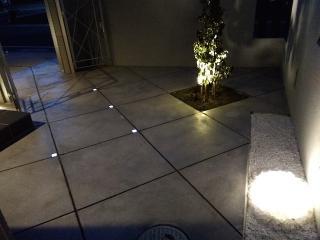 pict-LED照明でお庭を楽しむナイトガーデン実例 (13)