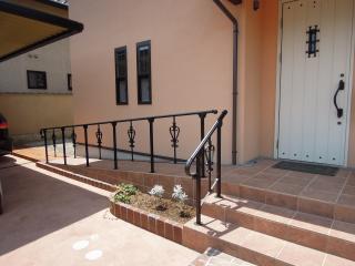玄関スロープ (1)