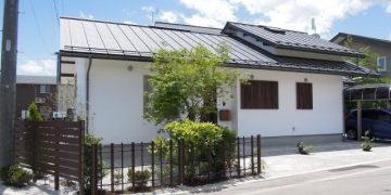 和風テイストの坪庭 (5)